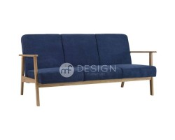 MF DESIGN ALPHA 3 SEATER ANTIQUE SOFA