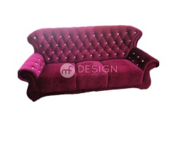 MF DESIGN CHESTERFIELD HIGH BACK 3 SEATER SOFA