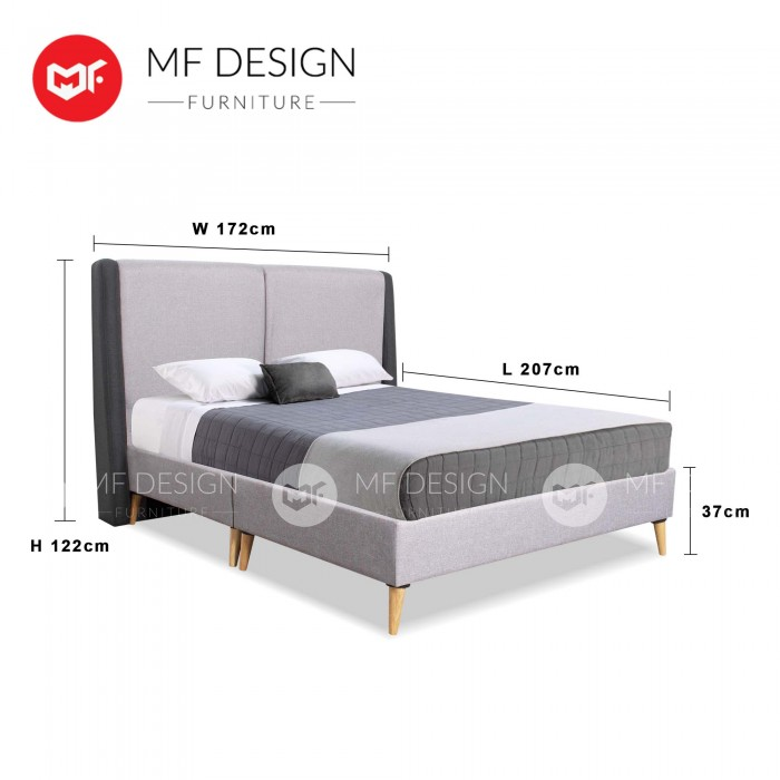 MF DESIGN ASSEMBLY - Spring Mattress HOME PACKAGE 4 ( Queen Bed ...