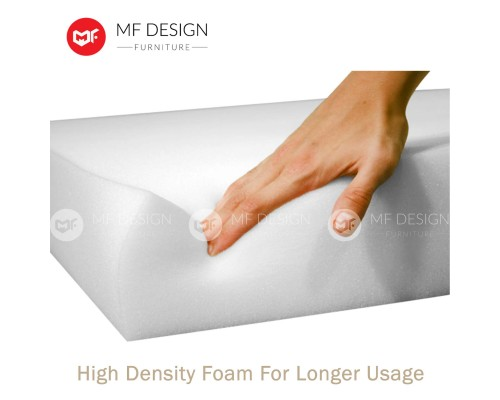 MF DESIGN ASSEMBLY - Apartment Package 1 ( Queen Bed Frame X 2 , 8 Inch Foam Mattress X 2 , New Zealand Sofa Bed X 1 , Tv Cabinet X 1 ,Dining Table X1 , Dining Chair X 4, Bench Chair X 1,  Pillow X 4 )