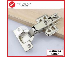 MF DESIGN HARDWARE - Safety Door Hydraulic Hinge Soft Close Full Overlay Kitchen Cabinet Cupboard