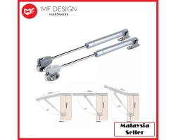 MF DESIGN HARDWARE - Kitchen Cabinet Door Lift Closet Strong Pneumatic Support Hydraulic Gas Spring Stay Hold (120N)