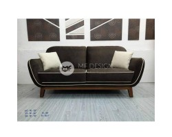 MF DESIGN 3 SEATER ORISE SOFA ( JATI TEAK WOOD LEG)