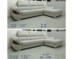 MF DESIGN TINA SOFA L SHAPE