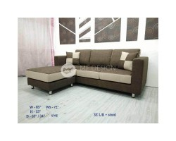 MF DESIGN ARETHA SOFA L SHAPE(FULLY WASHABLE)(MULTIPLE COLOUR CAN BE CHOOSE FROM)