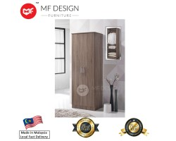 MF DESIGN DOMA 2 DOOR WARDROBE (2018)