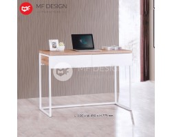 MF DESIGN ATALIA OFFICE TABLE / STUDY DESK / WRITING DESK / OFFICE TABLE / DESIGN TABLE (LIGHT TEAK)