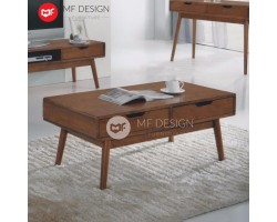 MF DESIGN NOMI COFFEE TABLE ( MEJA KOPI ) (KAYU) (SOLID WOOD)