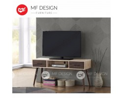 MF DESIGN ERIKO 4 FEET TV CABINET (SCANDINAVIAN DESIGN)  (2018)