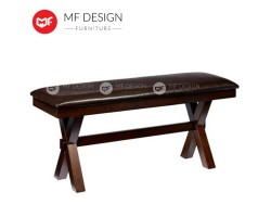 MF DESIGN Austin Bench Chair - Export To USA (Full Solid Wood)