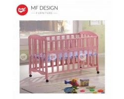MF DESIGN CANDY BABY COT/Kids Bed(PINK)