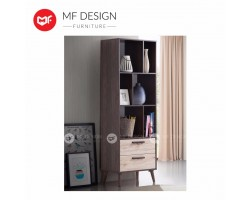 MF DESIGN ERIKO DISPLAY CABINET / BOOK SHELF / BOOK CASE  (2018)
