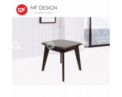 MF DESIGN DAVID WOODEN BED SIDE TABLE COFFEE TABLE - CAPPUCCINO