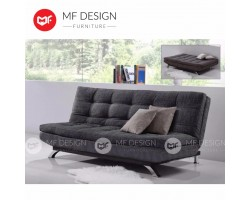 MF DESIGN NEW ZEALAND 3 Seater Fabric SOFA BED (Soft) (GREY)(EPE Cotton Inner Pearl Cotton???