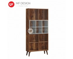 MF DESIGN NOTISGEN 2 BOOK SHELF / BOOK SHELF/ DISPLAY CABINET / BOOK RACK / BOOK CABINET/ BOOK CASE  (2018)