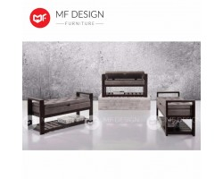 MF DESIGN FINN SOLID WOOD SHOE RACK / BENCH / STOOL / CHAIR