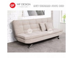 MF DESIGN NEW ZEALAND 3 Seater Fabric SOFA BED (Soft) (WHITE)(EPE Cotton Inner Pearl Cotton???
