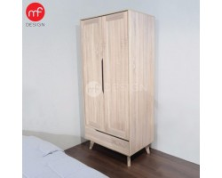 MF DESIGN FILLO 2 DOORS WARDROBE  (2018)