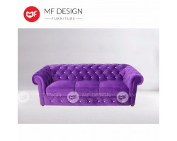 MF DESIGN CHESTERFIELD 3 SEATER SOFA