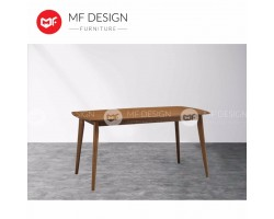 MF DESIGN ADRIA 1.5 METER DINING TABLE (COCOA)