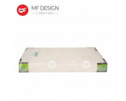 MF DESIGN 3.5 SUPER SINGLE FOAM MATTRESS HIGH QUALITY 8 INCH  (DAMASK)