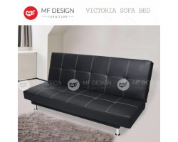 MF DESIGN VICTORIA SOFA BED (BLACK )
