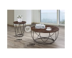 MF DESIGN AORIS COFFEE TABLE + SMALL SIDE TABLE