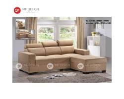 MF DESIGN LUKAS L-SHAPE SOFA