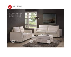 MF DESIGN BENJAMIN SOFA 2+3+STOOL