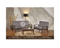 MF DESIGN ROLLY ANTIQUE SOFA SET (2+3)