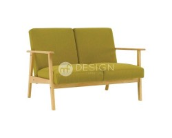 MF DESIGN ALPHA 2 SEATER ANTIQUE SOFA