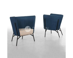 MF DESIGN AMIENS LOUNGE CHAIR
