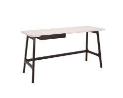 MF DESIGN MORAY WORKING DESK IN NATURAL OR PENNY BROWN COLOUR