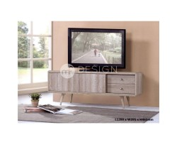 MF DESIGN AMBER 4 FEET TV CABINET