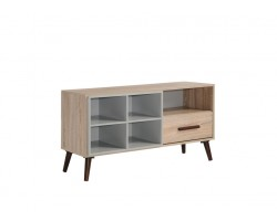 MF DESIGN IVEN SOLID WOOD TV CABINET ( 4 FEET )