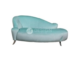 MF DESIGN SOPHIE 2 SEATER LOUNGE CHAISE ( TWO COLOUR OPTION )