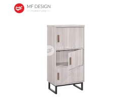 MF DESIGN JANON 3 DRAWER CABINET ( IRON LEG )